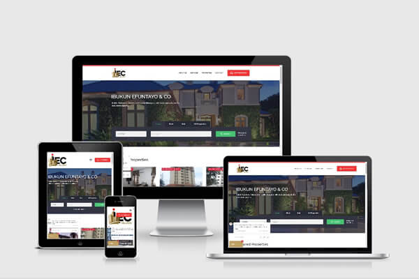Get Your Real Estate Business A Stunning Website For Maximum Business Success @bedge.com.ng