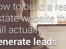 How To Build A Real Estate Website